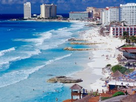 Papel de parede Shoreline, Cancun, México