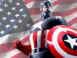 Papel de parede Capitão América – História em Quadrinhos