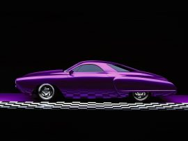 Papel de parede Carro lilás