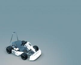 Papel de parede Carro de Kart