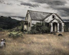 Papel de parede Casa Abandonada