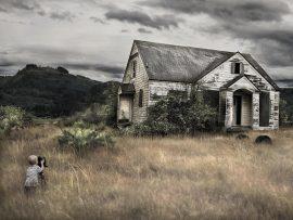 Papel de parede Casa da colina
