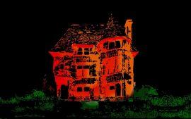 Papel de parede Casa Ilustrada