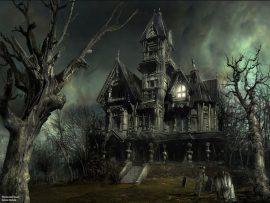 Papel de parede Casa mal assombrada