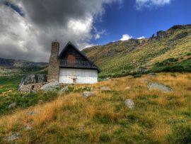 Papel de parede Casa no Monte