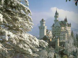 Papel de parede Castelo e Neve