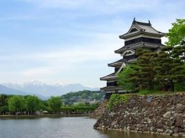 Papel de parede Castelo Matsumoto, Japão