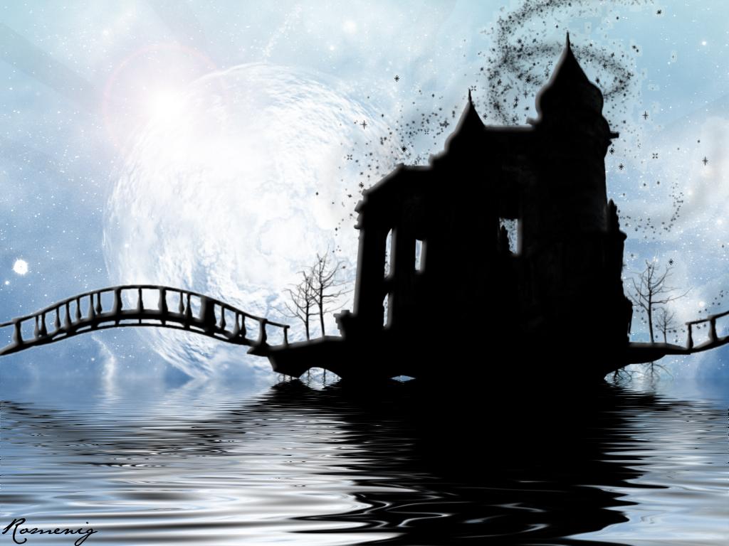 Papel de Parede Castelo Negro Wallpaper para Download no ...