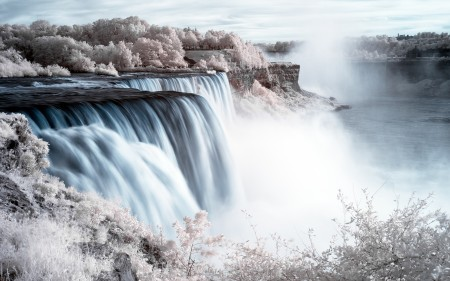 Papel de parede Cataratas do Niagara para download gratuito. Use no computador pc, mac, macbook, celular, smartphone, iPhone, onde quiser!