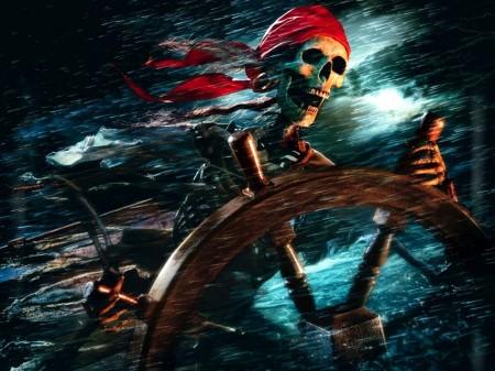Papel de parede Caveira de Piratas do Caribe para download gratuito. Use no computador pc, mac, macbook, celular, smartphone, iPhone, onde quiser!