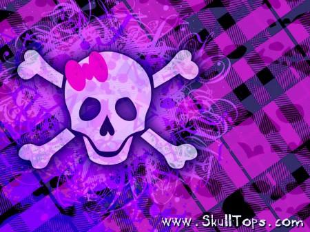 Papel de parede Caveira Púrpura para download gratuito. Use no computador pc, mac, macbook, celular, smartphone, iPhone, onde quiser!