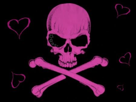 Papel de parede Caveira Pink para download gratuito. Use no computador pc, mac, macbook, celular, smartphone, iPhone, onde quiser!
