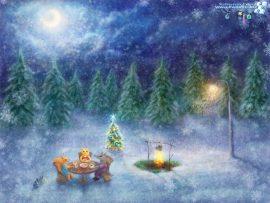 Papel de parede Celebrando o Natal