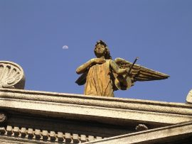 Papel de parede Cemitério da Recoleta – Anjo
