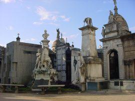 Papel de parede Cemitério da Recoleta – Estátuas