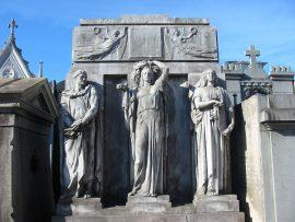 Papel de parede Cemitério da Recoleta – Túmulo de Mitre