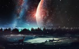 Papel de parede Cenário do Universo