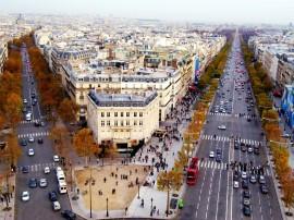 Papel de parede Champs Elysees, Páris