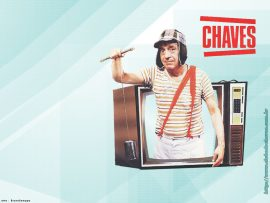 Papel de parede Chaves – Na TV