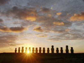 Papel de parede Chile – Estátuas