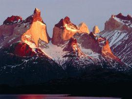 Papel de parede Chile – Montanhas e Neve
