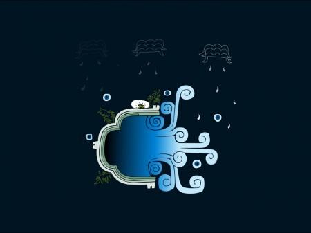 Papel de parede Chuva no Azul para download gratuito. Use no computador pc, mac, macbook, celular, smartphone, iPhone, onde quiser!