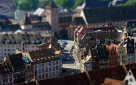 Papel de parede Cidade de Brinquedo