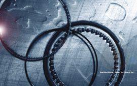 Papel de parede Círculo – Rodas Dentadas