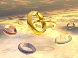Papel de parede Círculos – Anéis