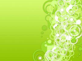 Papel de parede Círculos – Verde
