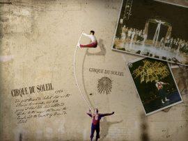 Papel de parede Cirque du Soleil