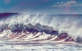 Papel de parede Praia: Ondas do Mar