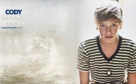 Papel de parede Cody Simpson Lindo Camisa Listrada