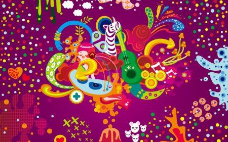 Papel de parede Colorido – Psicodélico para download gratuito. Use no computador pc, mac, macbook, celular, smartphone, iPhone, onde quiser!