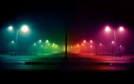Papel de parede Colorido – Rua