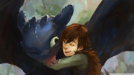 Papel de parede Pintura de Como Treinar seu Dragão 2