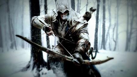 Papel de parede Connor – Assassin's Creed para download gratuito. Use no computador pc, mac, macbook, celular, smartphone, iPhone, onde quiser!