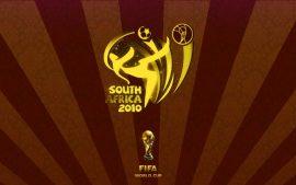 Papel de parede Copa do Mundo – Logo Marrom