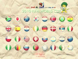 Papel de parede Copa do Mundo – Países