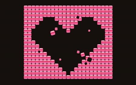 Papel de parede Coração Mosaico para download gratuito. Use no computador pc, mac, macbook, celular, smartphone, iPhone, onde quiser!