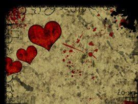 Papel de parede Coração não é de papel