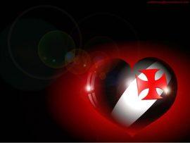 Papel de parede Coração Vascaíno