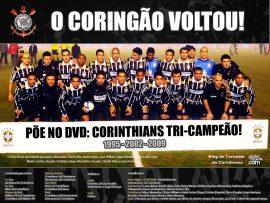 Papel de parede Coringão Voltou – Campeão da Copa do Brasil 2009