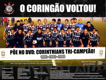 Papel de parede Coringão Voltou – Campeão da Copa do Brasil 2009 para download gratuito. Use no computador pc, mac, macbook, celular, smartphone, iPhone, onde quiser!