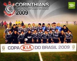 Papel de parede Corinthians – Campeão Copa do Brasil 2009