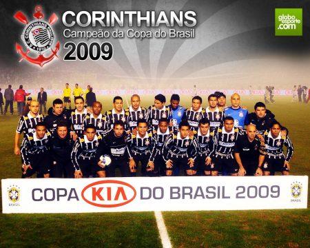 Papel de parede Corinthians – Campeão Copa do Brasil 2009 para download gratuito. Use no computador pc, mac, macbook, celular, smartphone, iPhone, onde quiser!