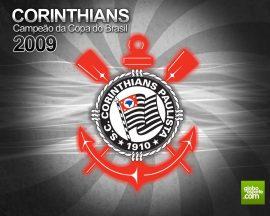 Papel de parede Corinthians, campeão da Copa da Brasil 2009