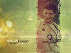 Papel de parede Cristiano Ronaldo – Jogador português