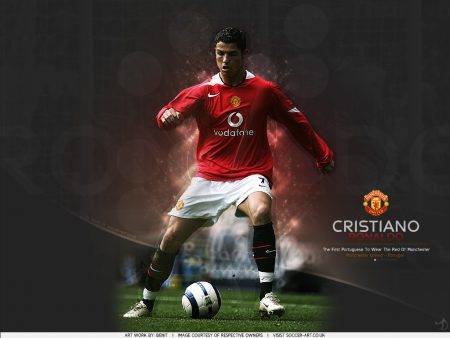 Papel de parede Cristiano Ronaldo – O primeiro português no Manchster United para download gratuito. Use no computador pc, mac, macbook, celular, smartphone, iPhone, onde quiser!