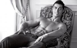 Papel de parede Cristiano Ronaldo Sem Camisa